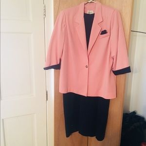 DRESS AND JACKET BLUE DRESS Pink Jacket 20WP